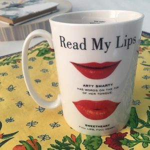 Kate Spade New York Read My Lips Coffee Mug